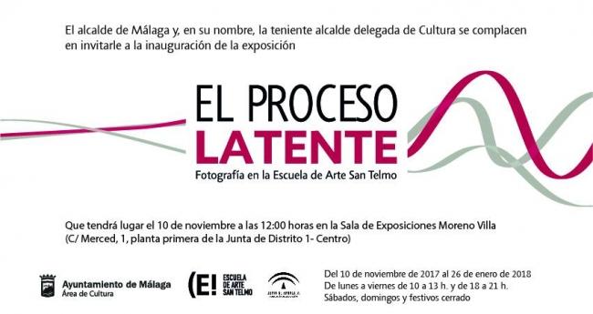 El proceso latente. Fotografía en la Escuela de Arte San Telmo de Málaga