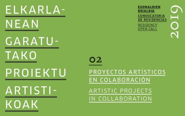 Residencia para el desarrollo de proyectos artísticos en colaboración 2019