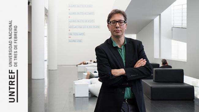 Políticas curatoriales. Diálogo con Ferran Barenblit. Imagen cortesía UNTREF