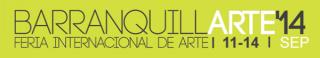 Logo de BarranquillARTE 2014