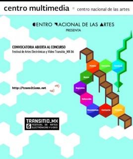 6º Concurso Internacional de Artes Electrónicas y Video Transitio_MX