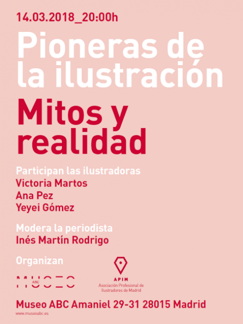Pioneras de la ilustración, mito y realidad