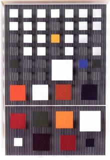 Jesús Rafael Soto (Venezuelan, 1923-2005)  Ambivalencia en el espacio no 23, 1981. Nader Art Museum Collection. © Atelier Soto.