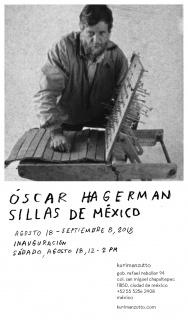 Óscar Hagerman. Sillas de México