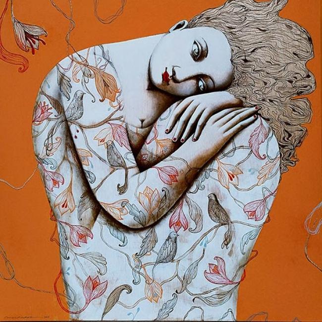 Menchu Uroz — Cortesía de L'Arcada, Galeria d'Art