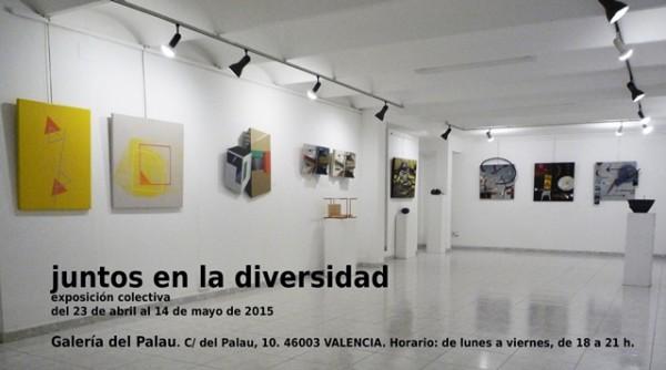 Juntos en la diversidad | Ir al evento: 'Juntos en la diversidad'. Exposición de Escultura, Pintura en Galeria del Palau / Valencia, España