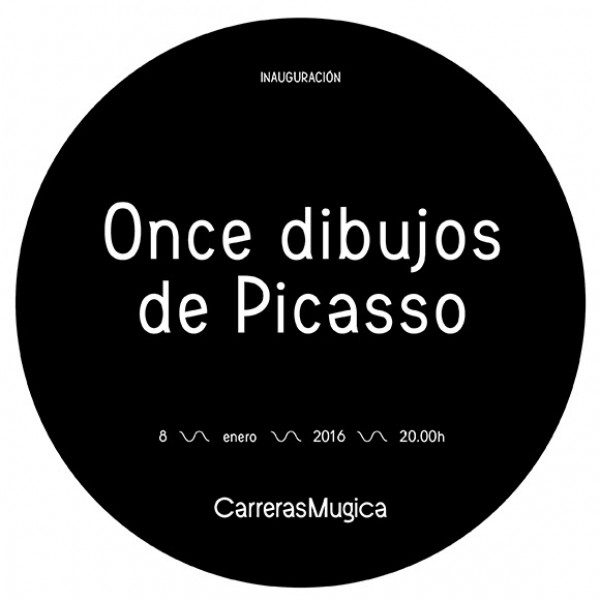 Once dibujos de Picasso