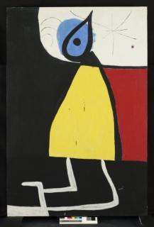 Joan Miró. La fuerza de la materia
