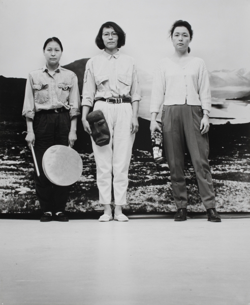 Pia Arke De tre Gratier / The Three Graces / Las tres Gracias, 1993  Photograph Collection of Brandts - Museum for kunst og visuel kultur / Museum of Art and Visual Culture / Søren Arke Petersen