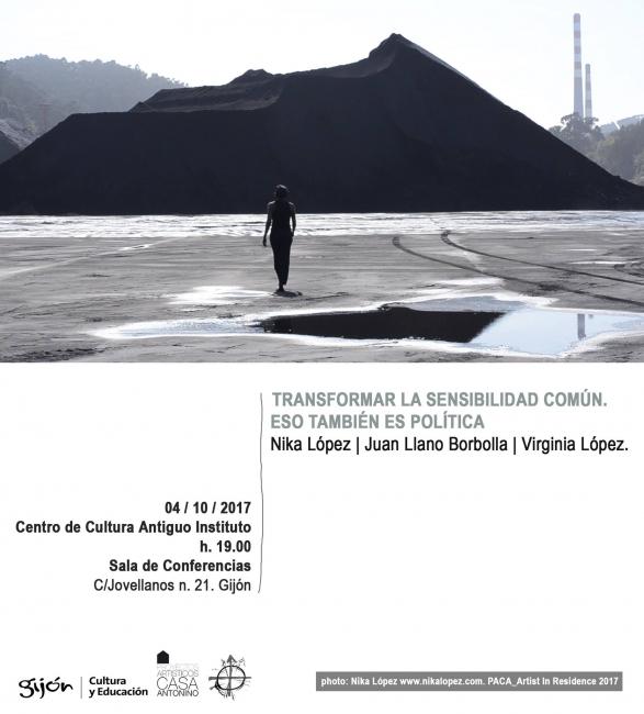 Transformar la sensibilidad común | Ir al evento: 'Desde lo mínimo'. Presentación de Escultura, Fotografía, Video arte en Centro de Cultura Antiguo Instituto de Gijón (CCAI) / Gijón, Asturias, España