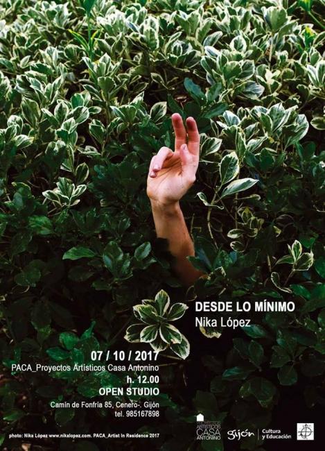 Desde lo mínimo | Ir al evento: 'Desde lo mínimo'. Presentación de Escultura, Fotografía, Video arte en Centro de Cultura Antiguo Instituto de Gijón (CCAI) / Gijón, Asturias, España