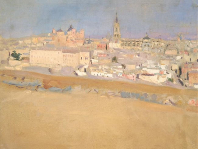 Vista de Toledo - Sorolla