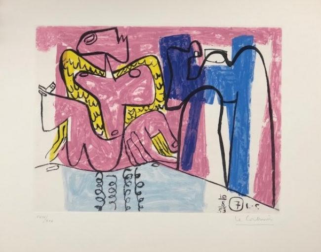 Le Corbusier — Cortesía de la galería La Aurora