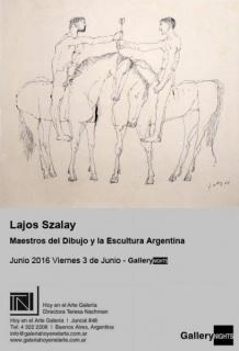 LAJOS SZALAY MAESTROS DEL DIBUJO Y LA PINTURA ARGENTINA