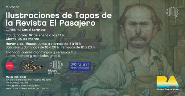 Ilustraciones de Tapas de la Revista El Pasajero