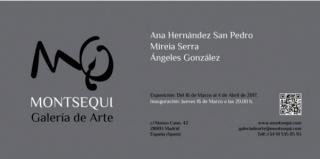 Ana Hernández San Pedro, Mireia Serra y Ángeles González