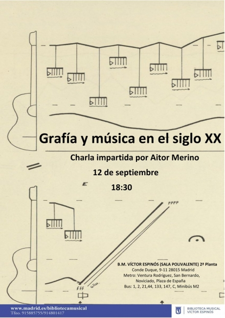 Grafía y música en el siglo XX - Aitor Merino Martínez