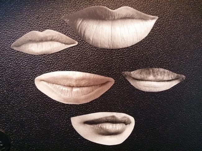 Esther Morcillo, Bocas – Cortesía de AJG Contemporary Art Gallery