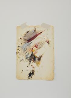 Mauro Piva. Homenagem – Teste de cores imaginario (Velázquez). 2017. Cortesía de Espacio Mínimo