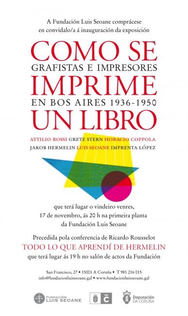 Como se imprime un libro. Grafistas e impresores en Bos Aires 1936-1950
