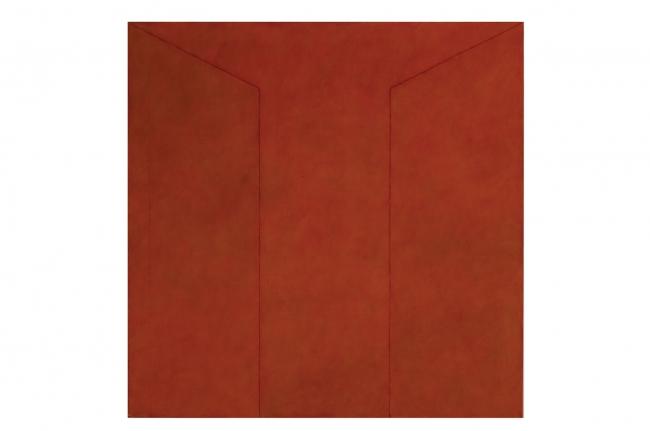 Ângelo de Sousa, Sem título, 1979. Acrílico sobre tela, 170x170 cm. Coleção Fundação Bienal de Arte de Cerveira. Prémio Revelação Pintura na II Bienal Internacional de Arte de Cerveira (1980)