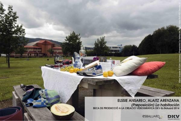 Elssie Ansareo, Alaitz Arenzana. (Preposición) La habitación