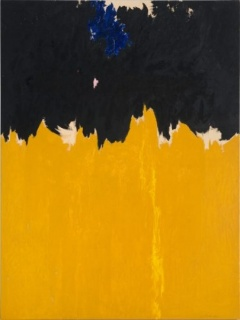 Clyfford Still, PH-950, 1950. Óleo sobre lienzo, 233,7 x 177,8 cm. Clyfford Still Museum, Denver. Cortesía Clyfford Still Museum, Denver, Colorado. © City and County of Denver, VEGAP, Bilbao, 2016