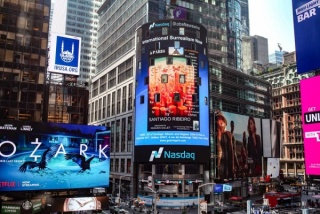 TIMES SQUARE NEW YORK Exhibition in Paris