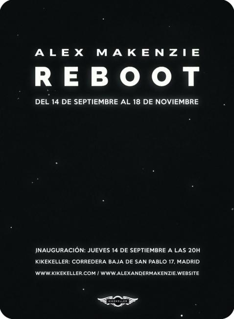 imagen reboot | Ir al evento: 'Reboot'. Exposición de Arte digital, Diseño, Pintura en Kike Keller / Madrid, España