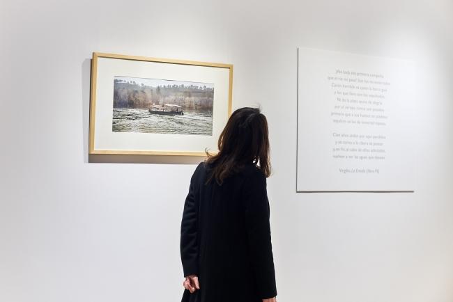 Vista de la exposición – Cortesía de la Biblioteca Miguel de Cervantes – Consulado General de España en Shanghái