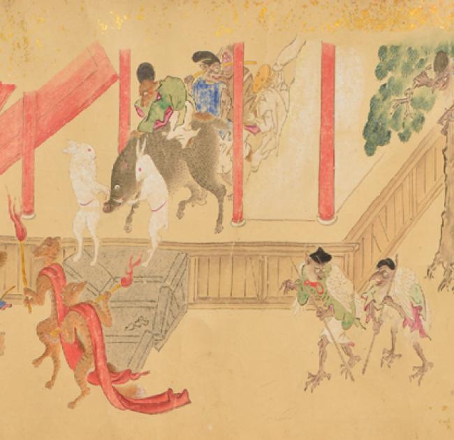 Yokai: iconografía de lo fantástico — Cortesía de la Real Academia de Bellas Artes de San Fernando