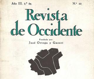 Trazos de la palabra. Viñetas de Revista de Occidente — Cortesía del Museo de Bellas Artes de Asturias