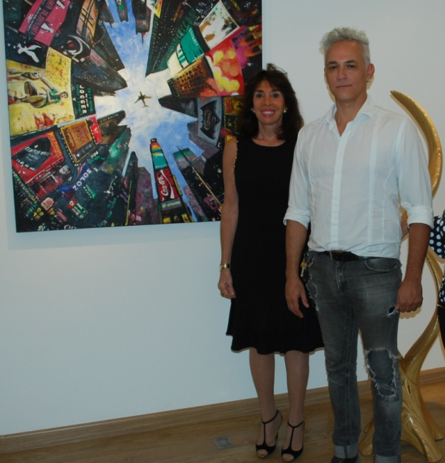 Carla Mourão e Luciano Oliveira Symbiotic