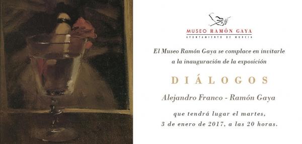 Diálogos: Alejandro Franco - Ramón Gaya