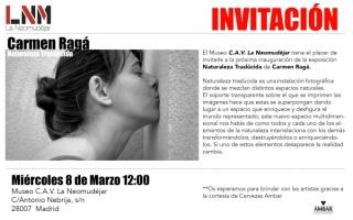 Carmen Ragá. Naturaleza Traslúcida