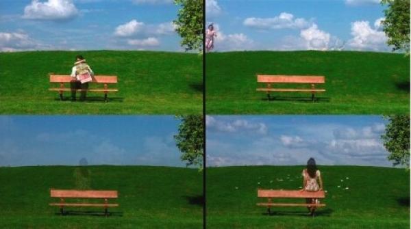 Valeska Soares, Walk on By (detail), 2006. Video Installation. Courtesy Fortes D'Aloia & Gabriel