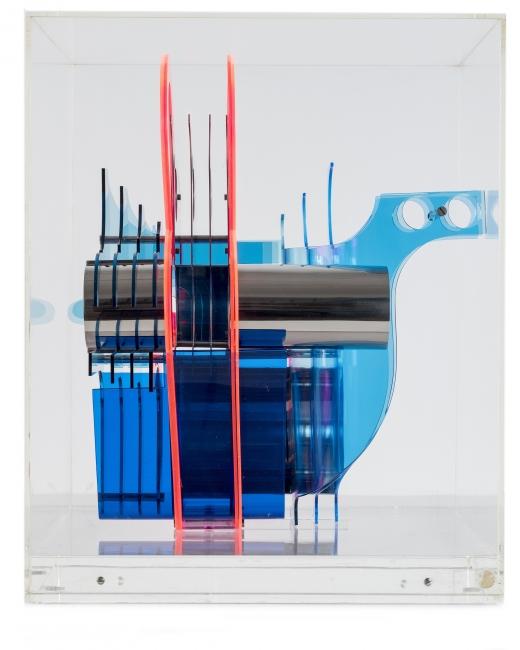 Manuel Ayllon, Sin Título, 1973 | Ir al evento: 'Geometría & plexiglás [circa 1970]'. Exposición en José de la Mano / Madrid, España
