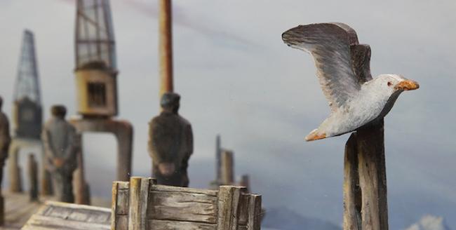 Dioramas de Magallanes, escenas de la vida de antaño