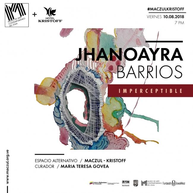 Jhanoayra Barrios. Imperceptible