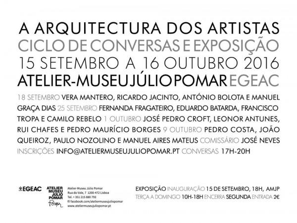 A Arquitectura dos Artistas