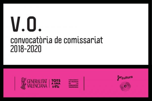 V.O. Convocatoria de comisariado 2018 -2020