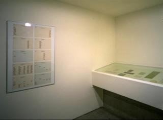 Vista de sala de la exposición. ZAJ, 1996