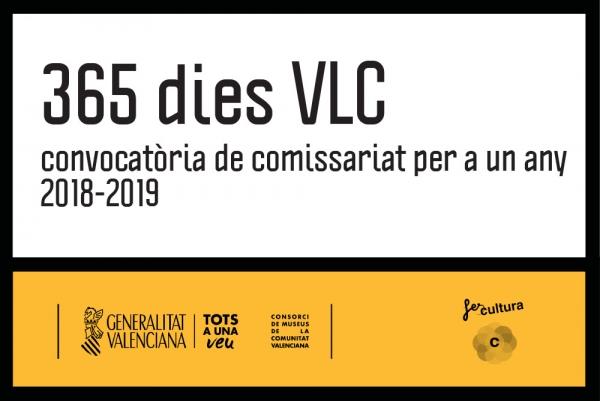 365 dies VLC. Convocatoria de comisariado para un año 2018-2019