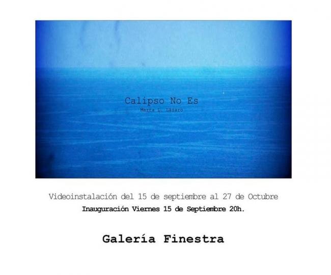 Marta L. Lázaro. Calipso No Es