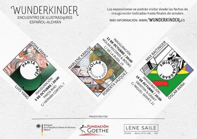 Wunderkinder. Encuentro de ilustradores español-alemán