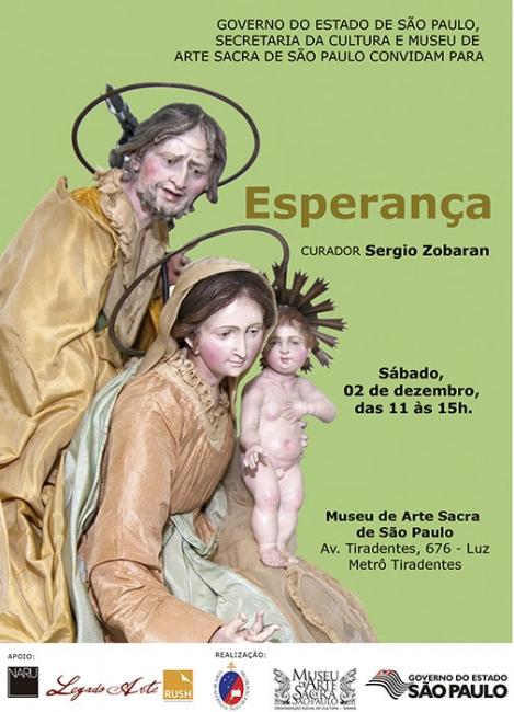 ESPERANÇA. Imagen cortesía Museu de Arte Sacra de São Paulo