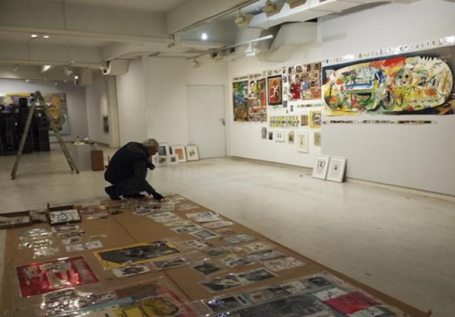 Cortesía de la galería Kur | Ir al evento: 'Culturas del mundo'. Exposición en Kur Art Gallery / Donostia-San Sebastián, Guipúzcoa, España