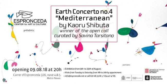"""Earth Concerto no.4 """"Mediterranean"""""""