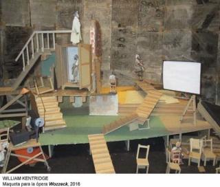 William Kentridge, Maqueta para la ópera Wozzeck, 2016