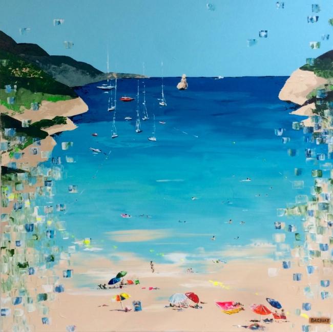 Lo Breillat. Balears 3, óleo sobre tela – Cortesía de la Galería Contrast